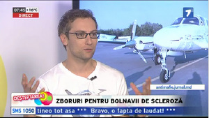 Fly for MS on Moldova's main TV station